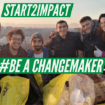#BeAChangemaker | Pulizie al parco con Start2Impact