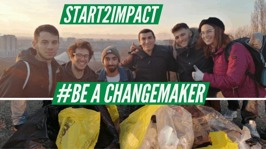 #BeAChangemaker Start2Impact