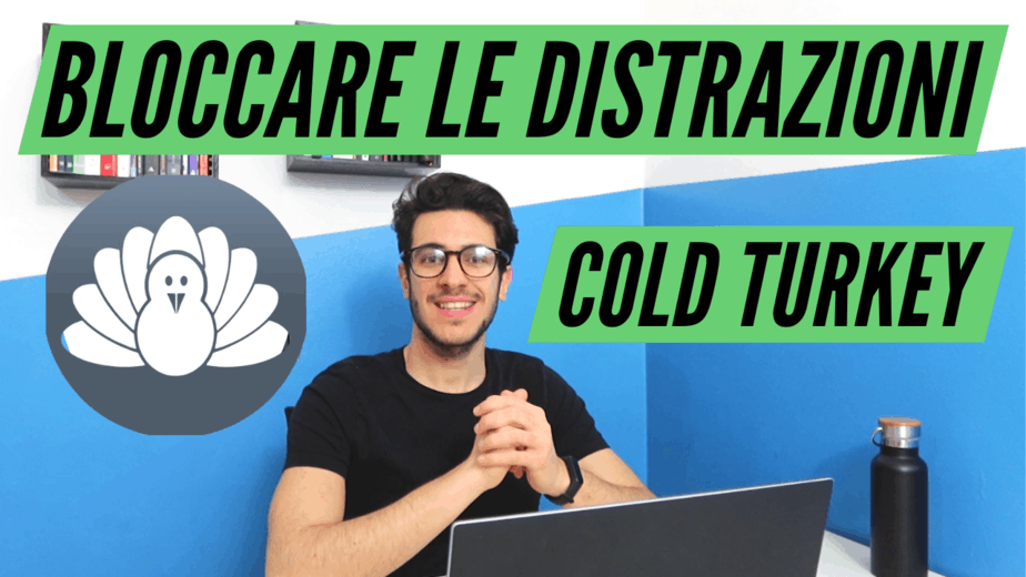 Bloccare le distrazioni dal PC con Cold Turkey